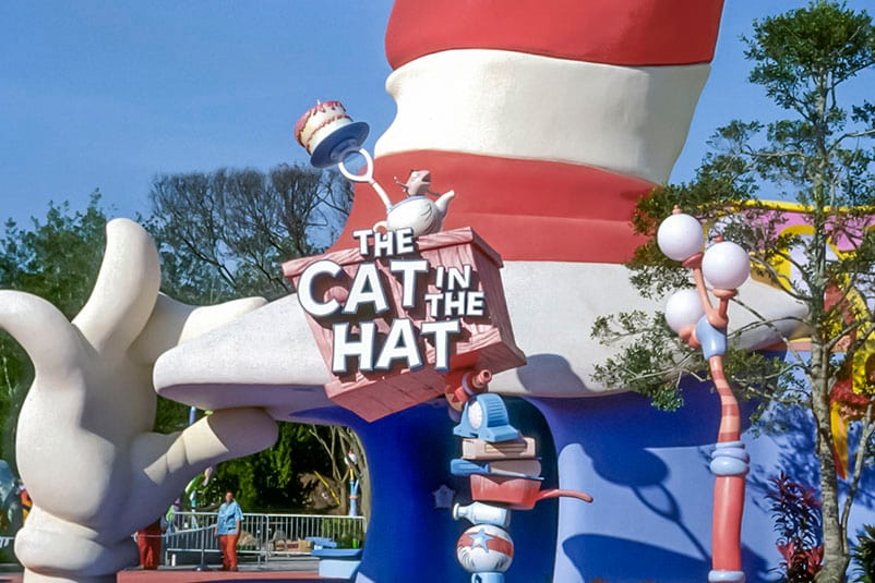 Cat In The Hat Ride Islands