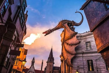 Harry Potter and the Escape from Gringotts™ in Diagon Alley