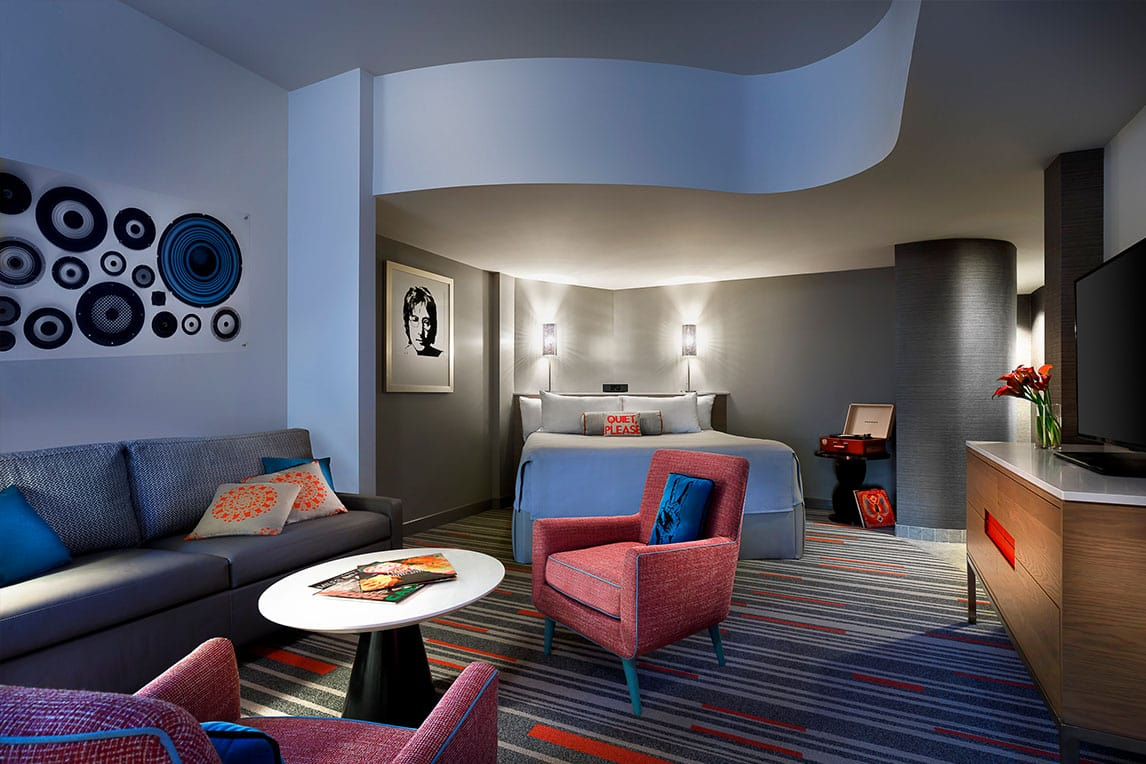 Deluxe 2 Bedroom Suites At Hard Rock Hotel At Universal Orlando