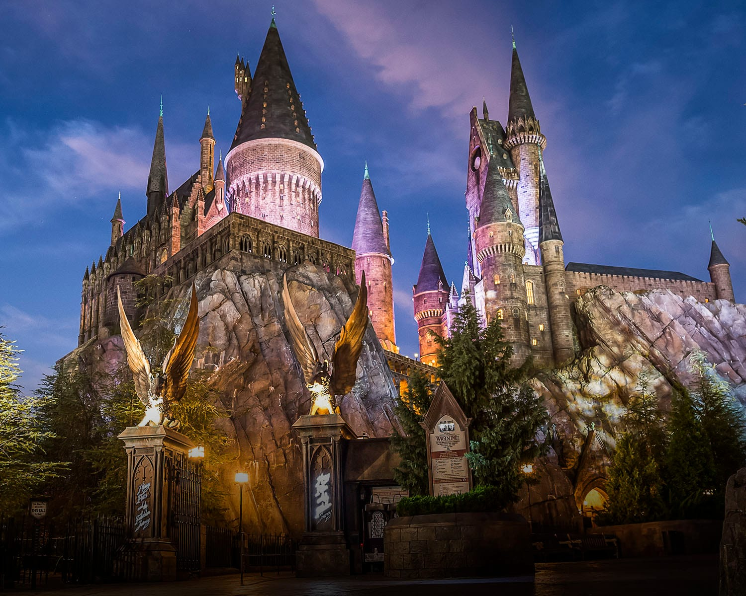 Image result for harry potter and the forbidden journey ride orlando blog