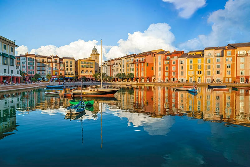 The Harbor Piazza At Universal Orlando S Premier Resort Hotel Loews Portofino Bay Featuring