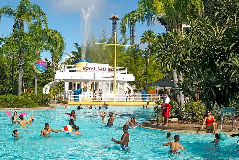 Loews Royal Pacific Resort At Universal Orlando A South Seas Paradise