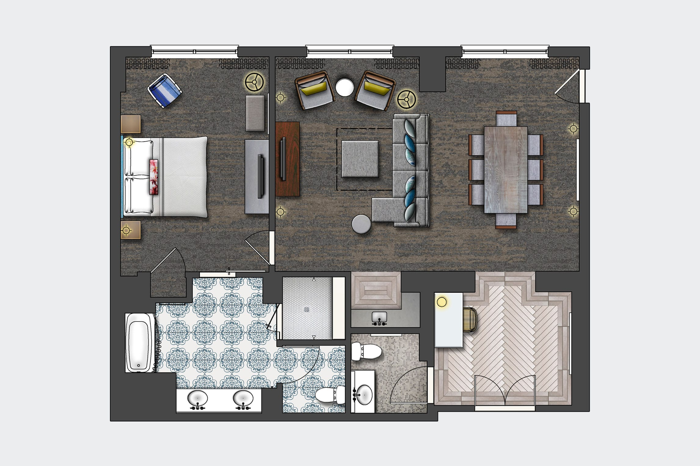 100 Universal Home Design Floor Plans Family Suites