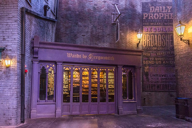 The wizarding world of harry potter diagon alley for Gregorovitch wands