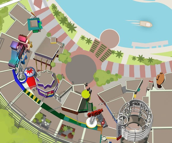 City Walk Map CityWalk™: The Epicenter of Awesome | Universal Orlando™ City Walk Map