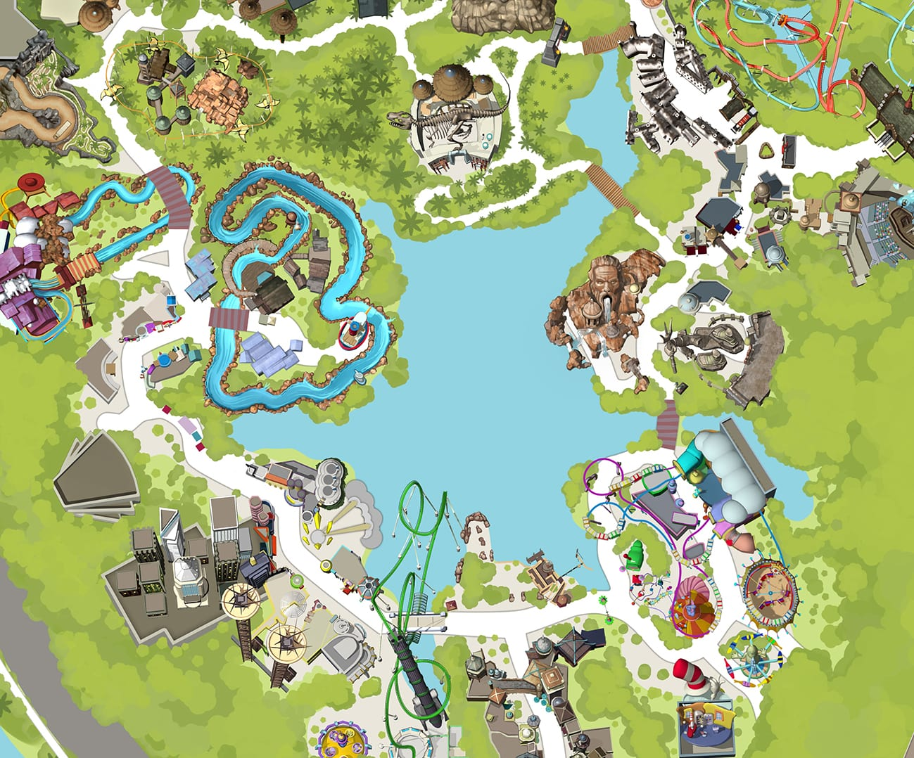 Universals Islands Of Adventure Theme Park Universal Orlando - Map of amusement parks in the us