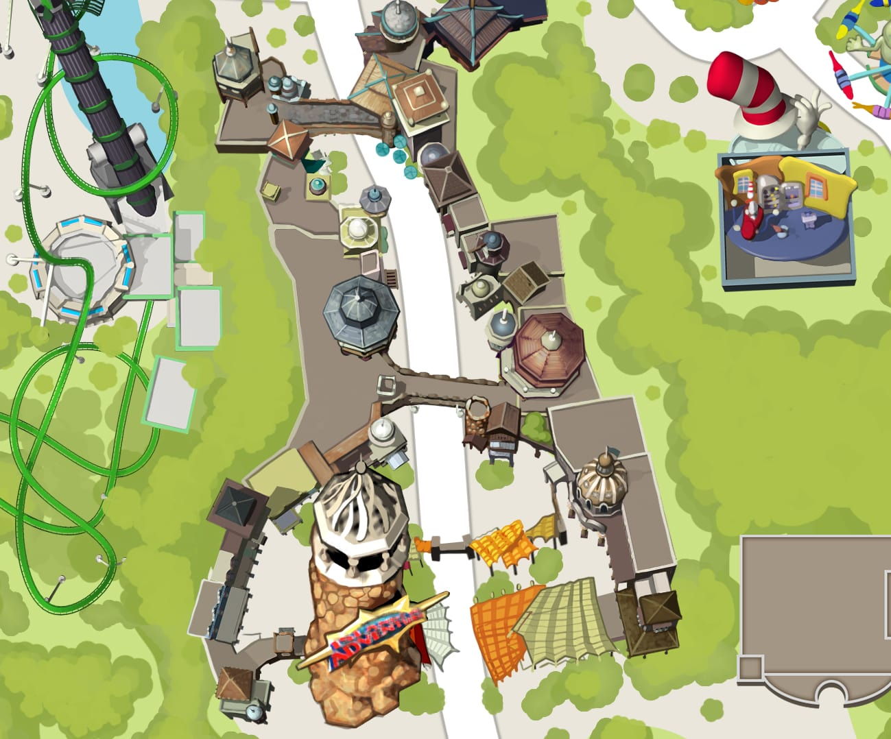 Port Of Entry Mini Map
