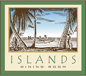 The Logo For Islands Dining Room In Loews Royal Pacific Resort At Universal Orlando